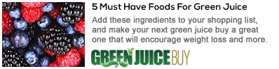 best ingredients for green juice