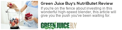 is a nutribullet a juicer