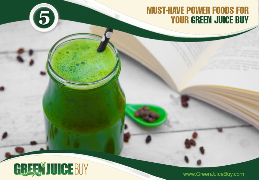 best ingredients for green juice